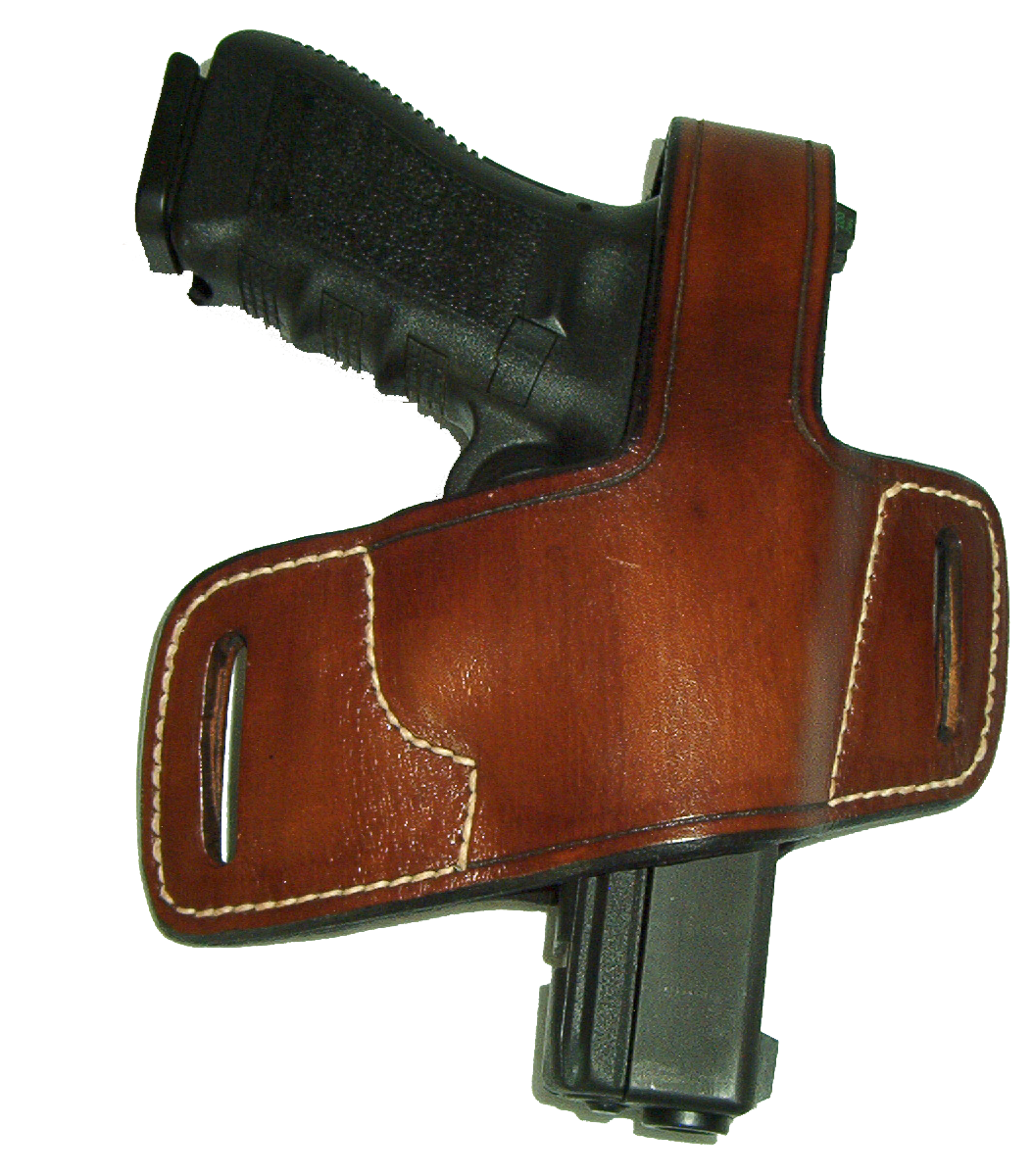 Belt Slide Holster With Thumb Break Image