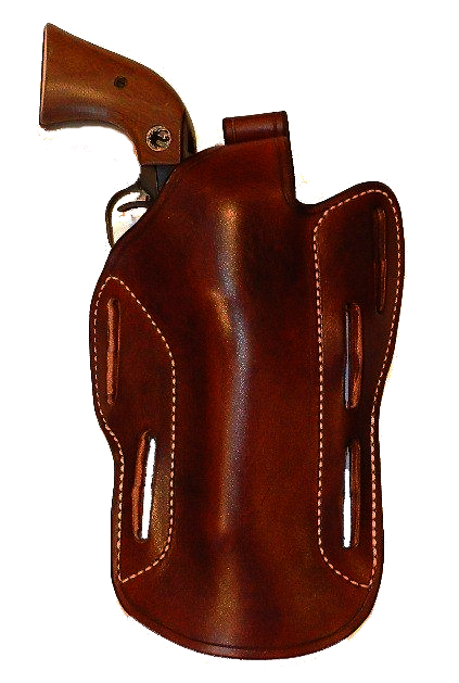 Pancake holster for handguns having a barrel length of 5 inches or more Image