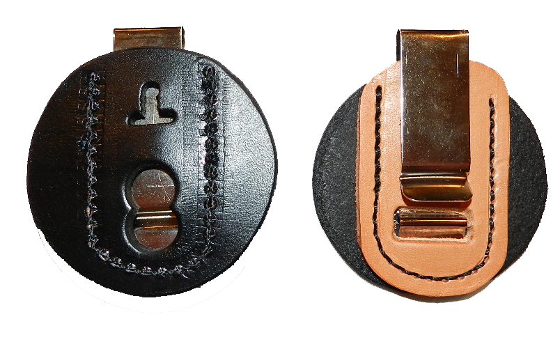 Clip-on belt star/badge holder Image
